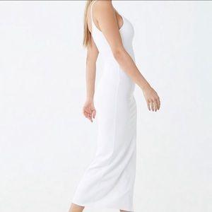 White Midi Cami Dress